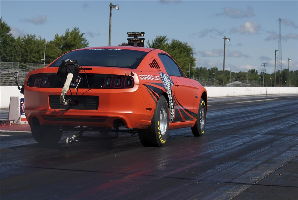 2014 FORD MUSTANG COBRA JET PROTOTYPE - Rear 3/4 - 158409