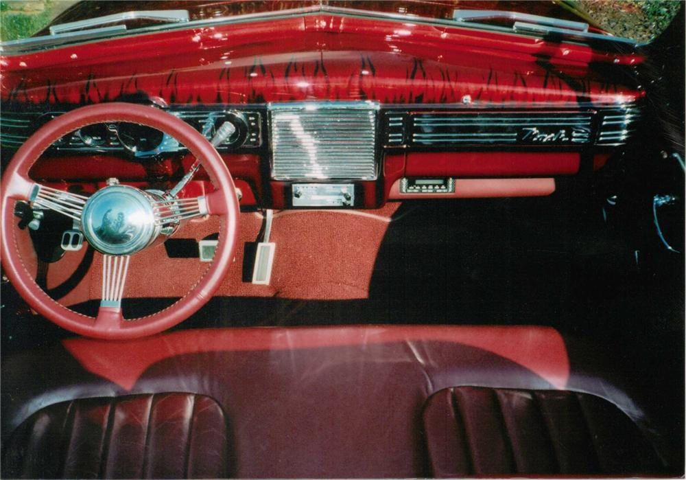 1940 NASH DELUXE LAFAYETTE CUSTOM CONVERTIBLE - Interior - 158425