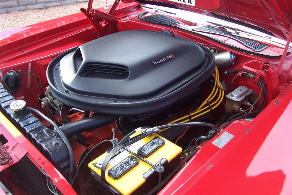 1970 PLYMOUTH CUDA 2 DOOR COUPE - Engine - 158428