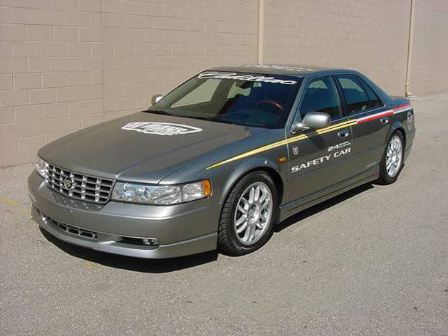 2000 CADILLAC STS CUSTOM SAFETY PACE CAR - Front 3/4 - 158429