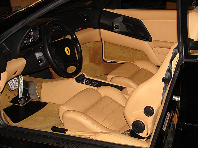 1998 FERRARI 355 F-1 COUPE - Interior - 158430