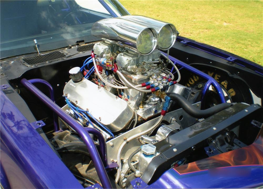 1972 CHEVROLET CAMARO COUPE PRO-STREET - Engine - 158431