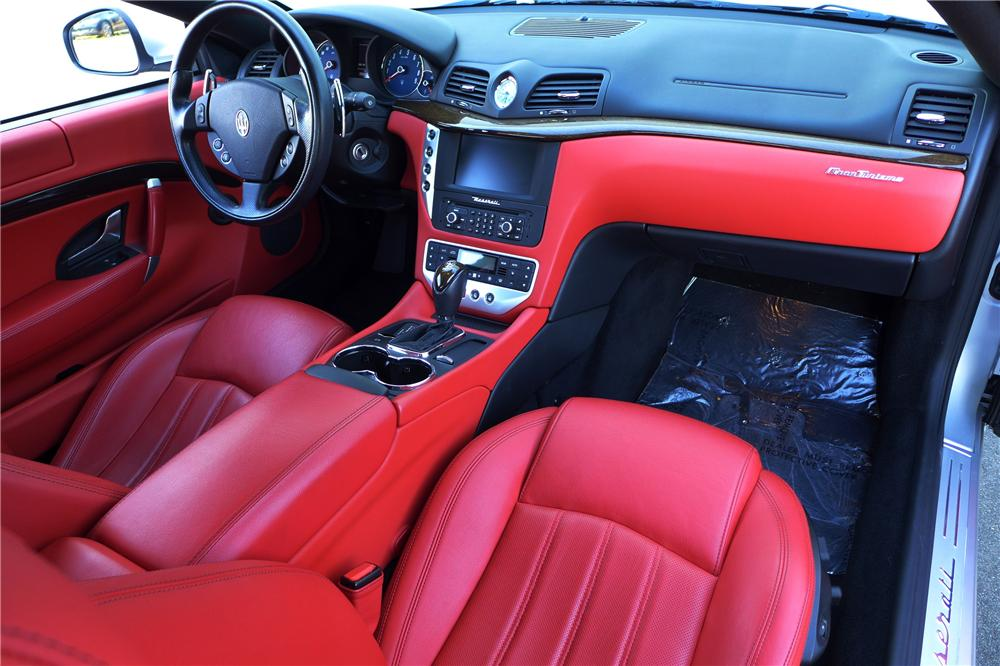 2010 MASERATI GRAND TURISMO 2 DOOR COUPE - Interior - 158441