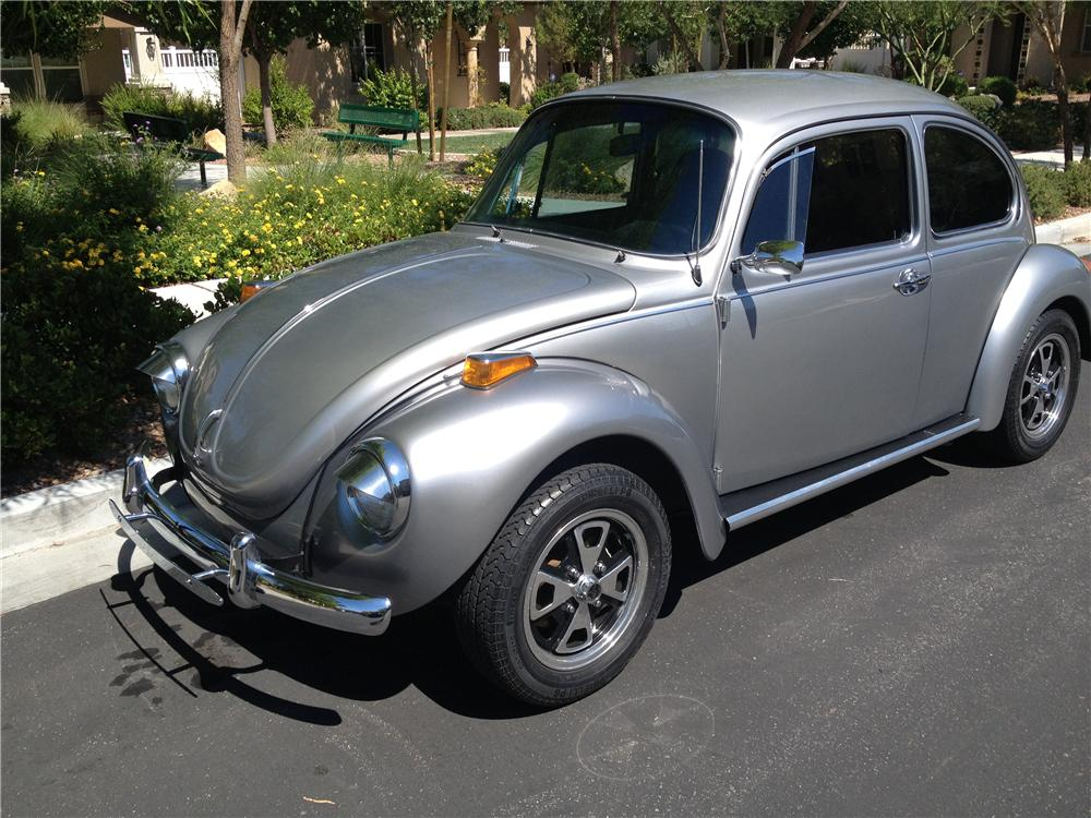 1973 VOLKSWAGEN SUPER BEETLE COUPE - Front 3/4 - 158448