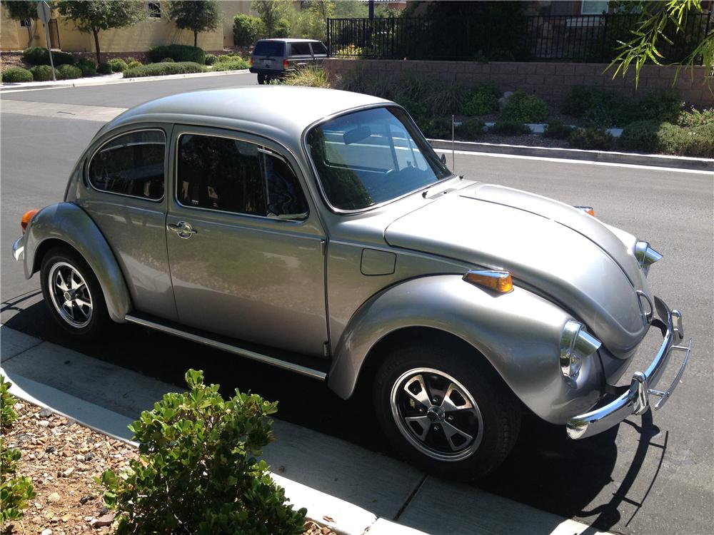 1973 VOLKSWAGEN SUPER BEETLE COUPE - Side Profile - 158448