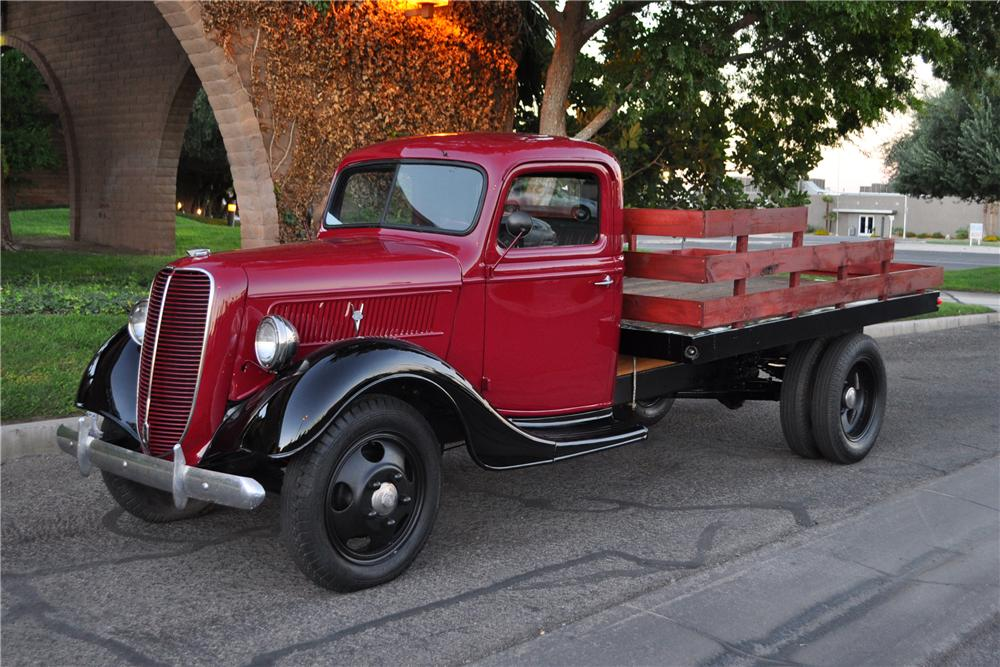47 Ford Stake Bed Truck