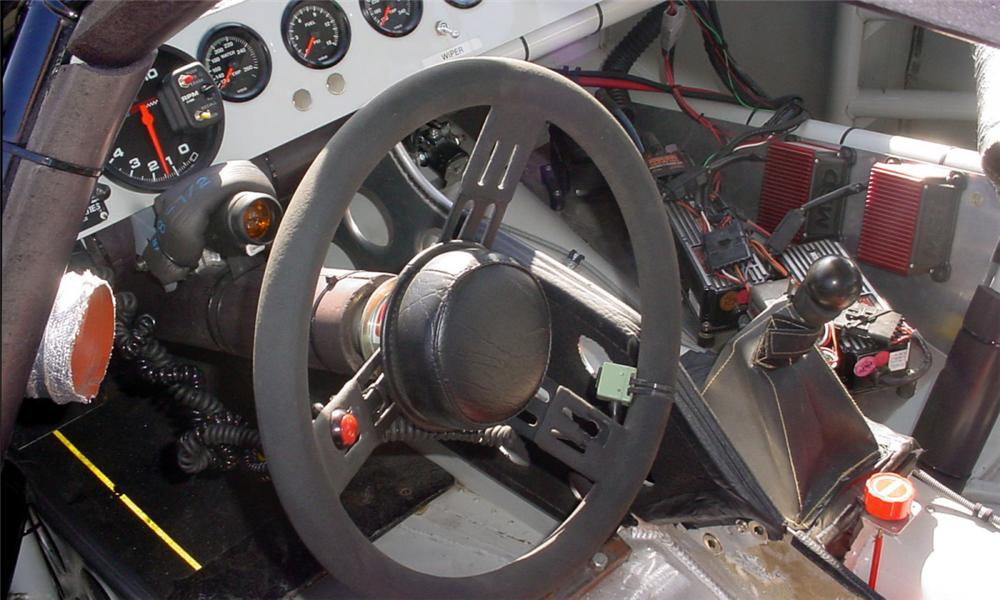 1999 PONTIAC GRAND PRIX 2 DOOR RACE CAR - Interior - 15850