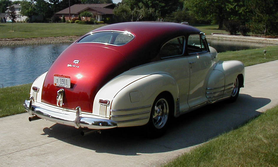 1948 chevrolet fleetline custom 2 door sedan 15854