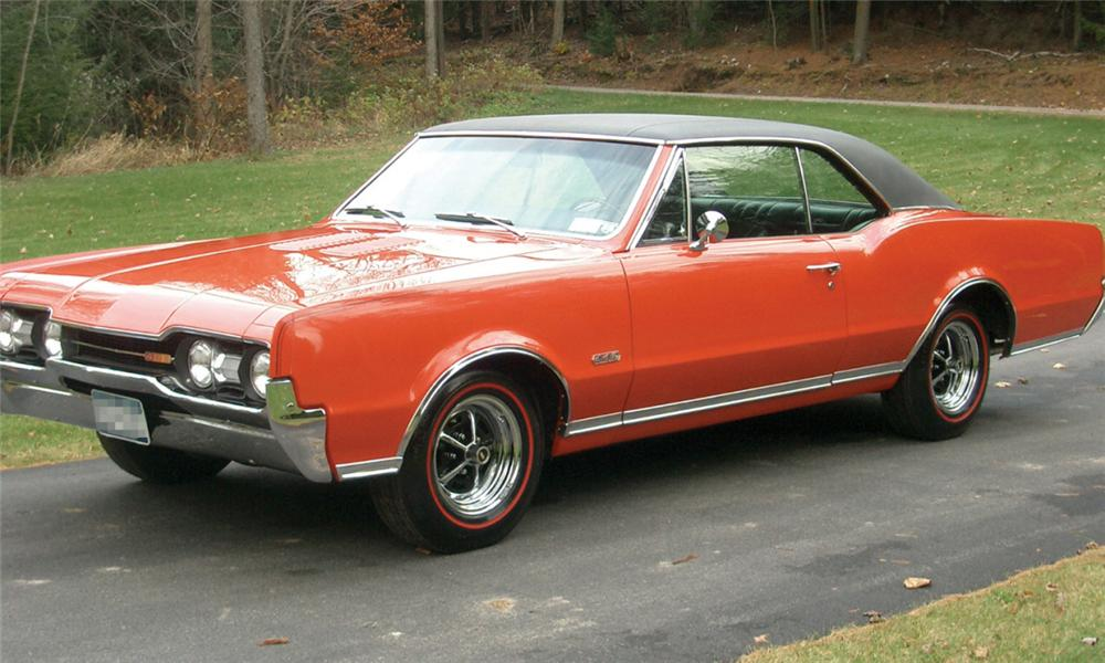 1967 OLDSMOBILE 442 W30 RE-CREATION HARDTOP COUPE - Front 3/4 - 15862