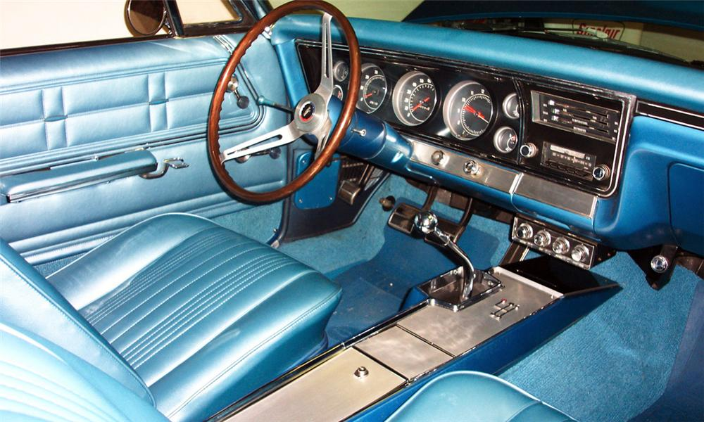 1967 CHEVROLET IMPALA SS 427 CONVERTIBLE - Interior - 15863