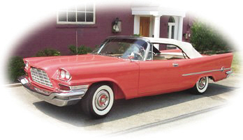 1957 CHRYSLER 300C CONVERTIBLE - Front 3/4 - 15865