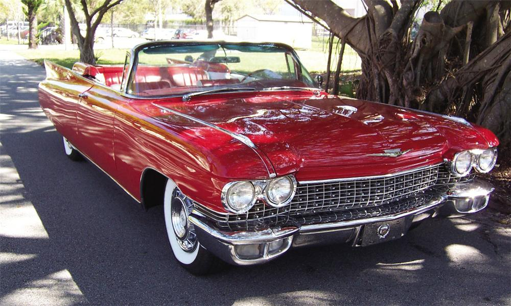 1959 CADILLAC SERIES 62 CONVERTIBLE RE-CREATION - Front 3/4 - 15866