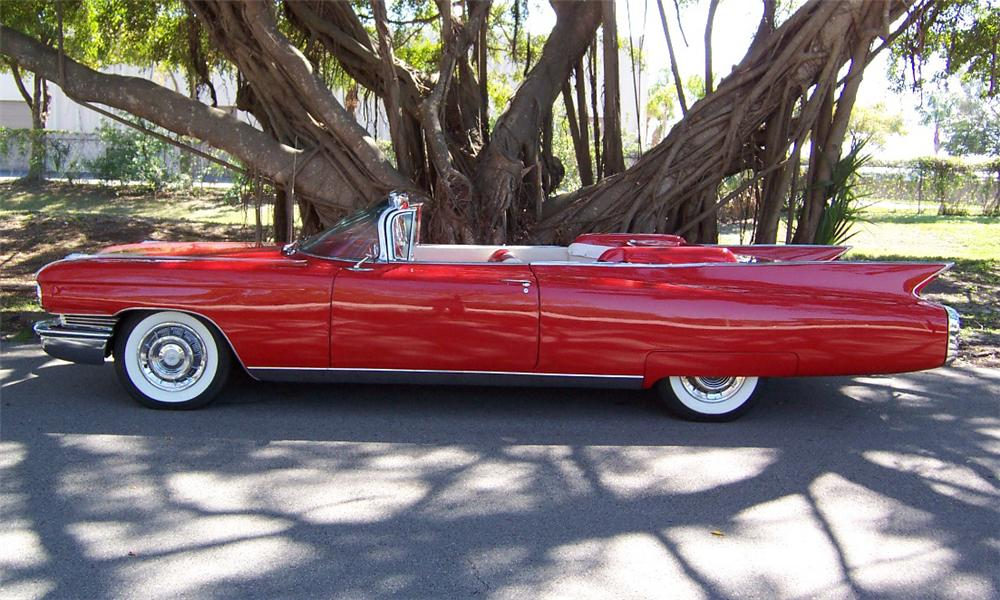 1959 CADILLAC SERIES 62 CONVERTIBLE RE-CREATION - Side Profile - 15866