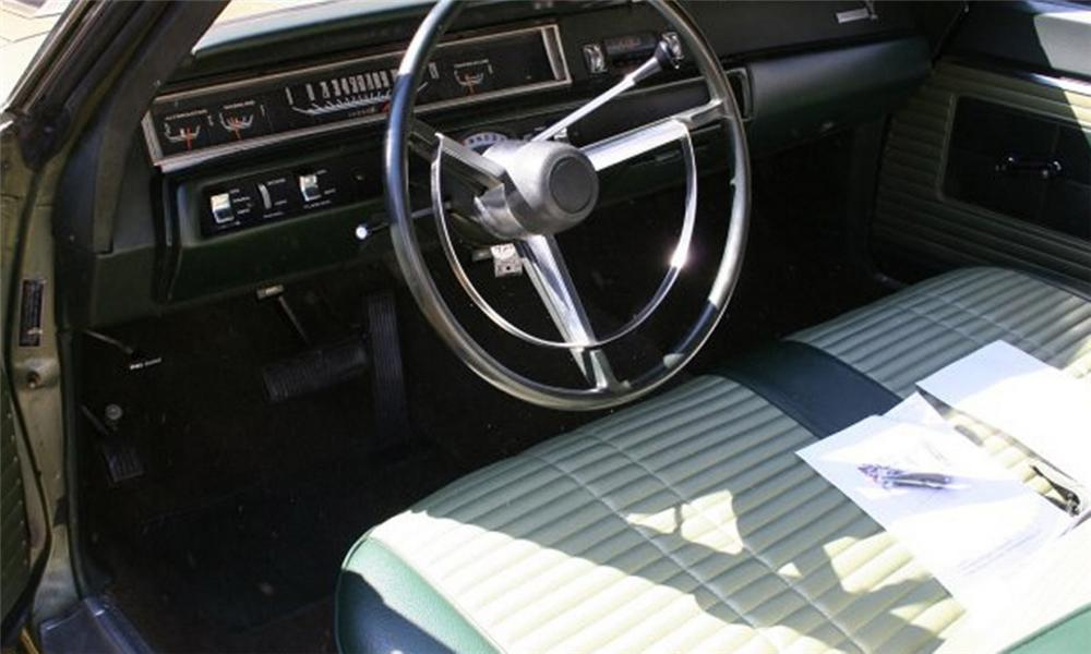 1968 Plymouth Road Runner - Interior Pictures - CarGurus   1968 Plymouth Road Runner Interior