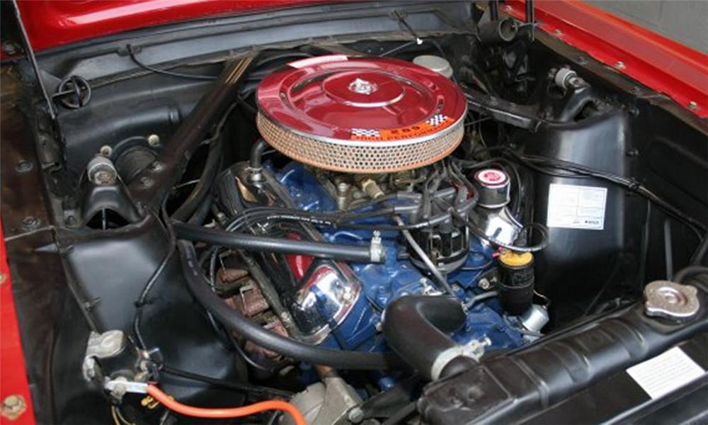 "1966 FORD MUSTANG GT ""K"" CODE FASTBACK - Engine - 15870"