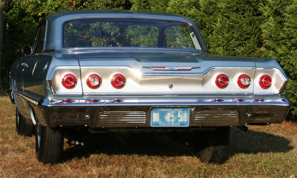 1963 CHEVROLET IMPALA 2 DOOR HARDTOP - Side Profile - 15871