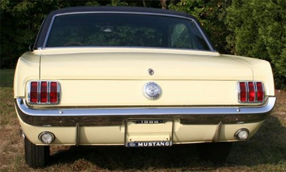 1966 FORD MUSTANG COUPE - Side Profile - 15882
