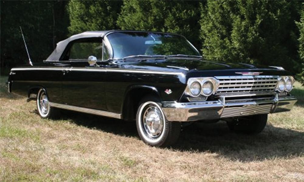 1962 CHEVROLET IMPALA SS CONVERTIBLE - Front 3/4 - 15883