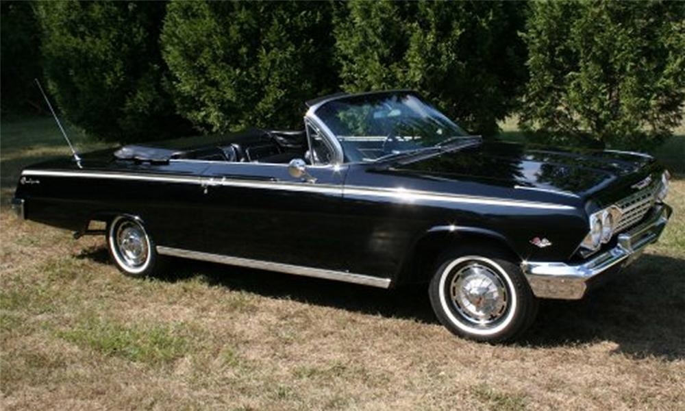 1962 chevrolet impala super sport convertible for sale autos post. Black Bedroom Furniture Sets. Home Design Ideas