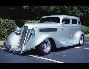 1935 STUDEBAKER DICTATOR CUSTOM 4 DOOR HARDTOP -  - 15889