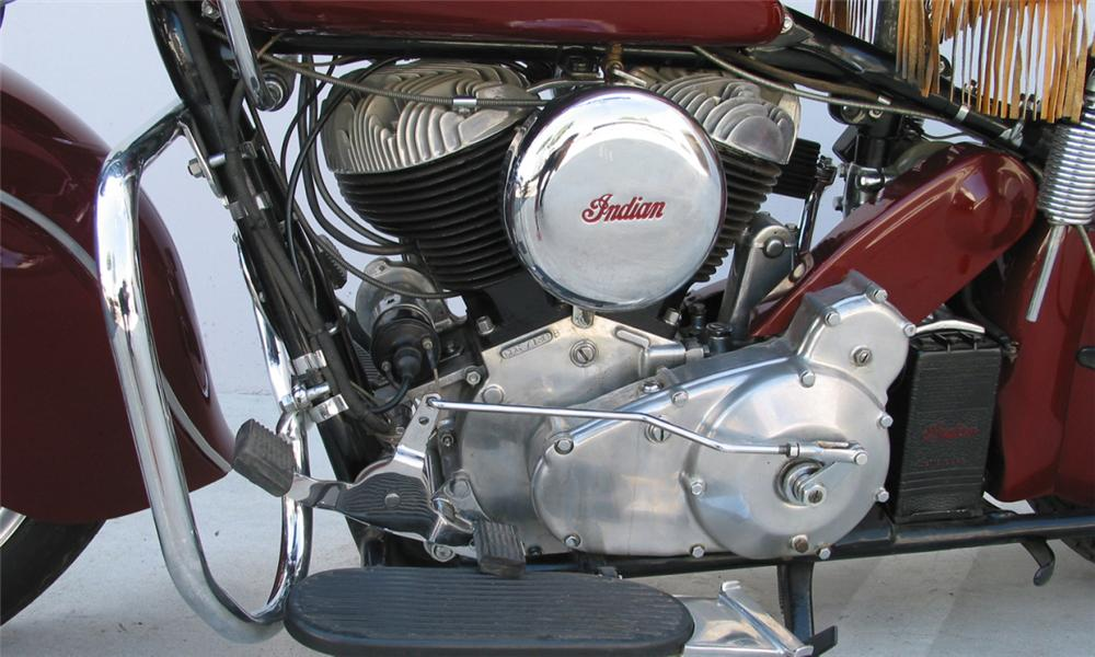 1947 INDIAN CHIEF MOTORCYCLE - Engine - 15897