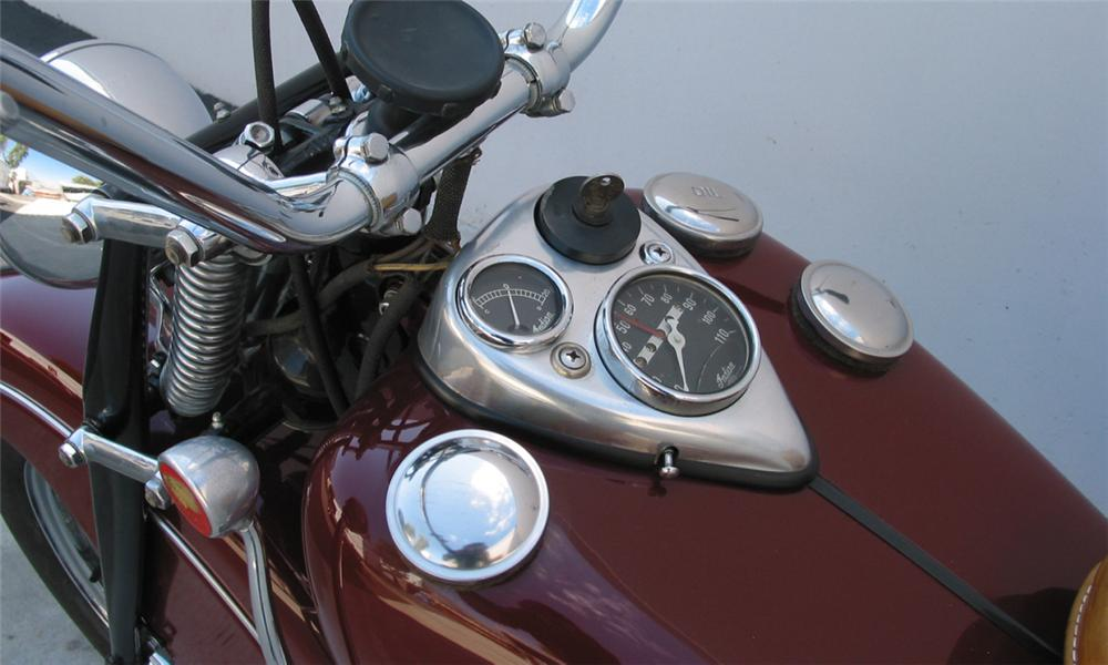 1947 INDIAN CHIEF MOTORCYCLE - Interior - 15897