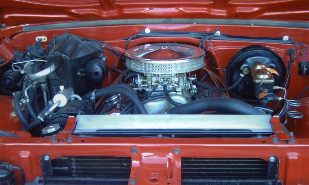 1967 CHEVROLET SHORT WIDE PICKUP - Engine - 15900