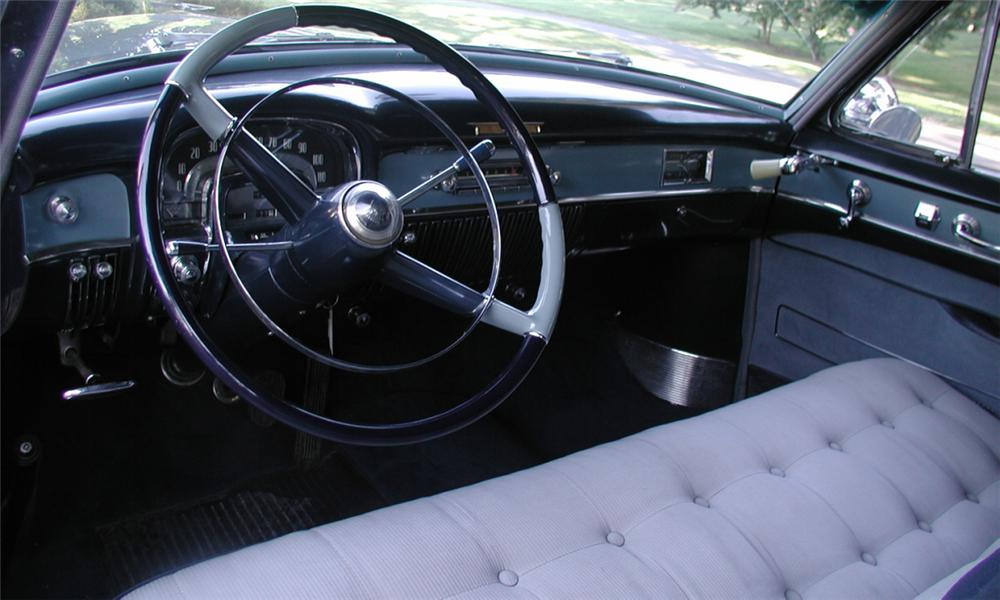 1953 CADILLAC SERIES 62 2 DOOR HARDTOP - Interior - 15901
