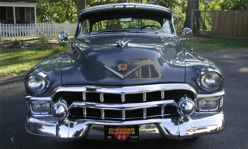 1953 CADILLAC SERIES 62 2 DOOR HARDTOP - Side Profile - 15901