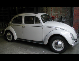 1953 VOLKSWAGEN BEETLE 2 DOOR HARDTOP W/SLIDE RAG TOP -  - 15902