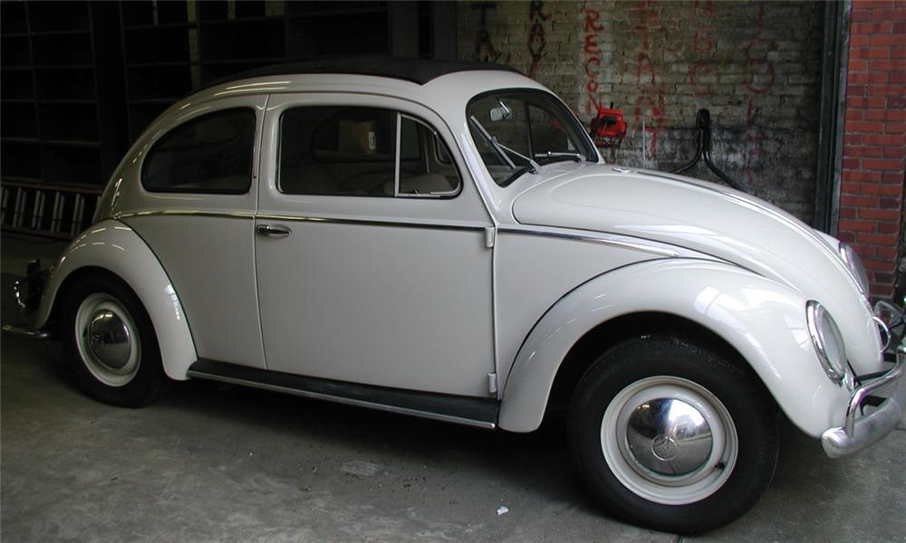 1953 volkswagen beetle 2 door hardtop w slide rag top 15902 for Credit auto garage volkswagen