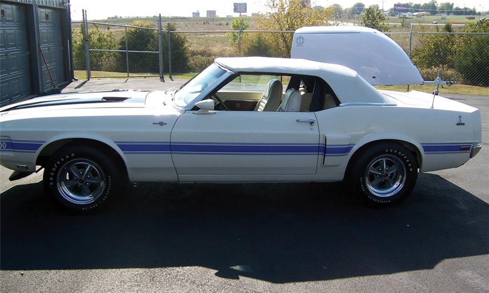 1970 SHELBY GT500 1 OF 1 CONVERTIBLE - Front 3/4 - 15907