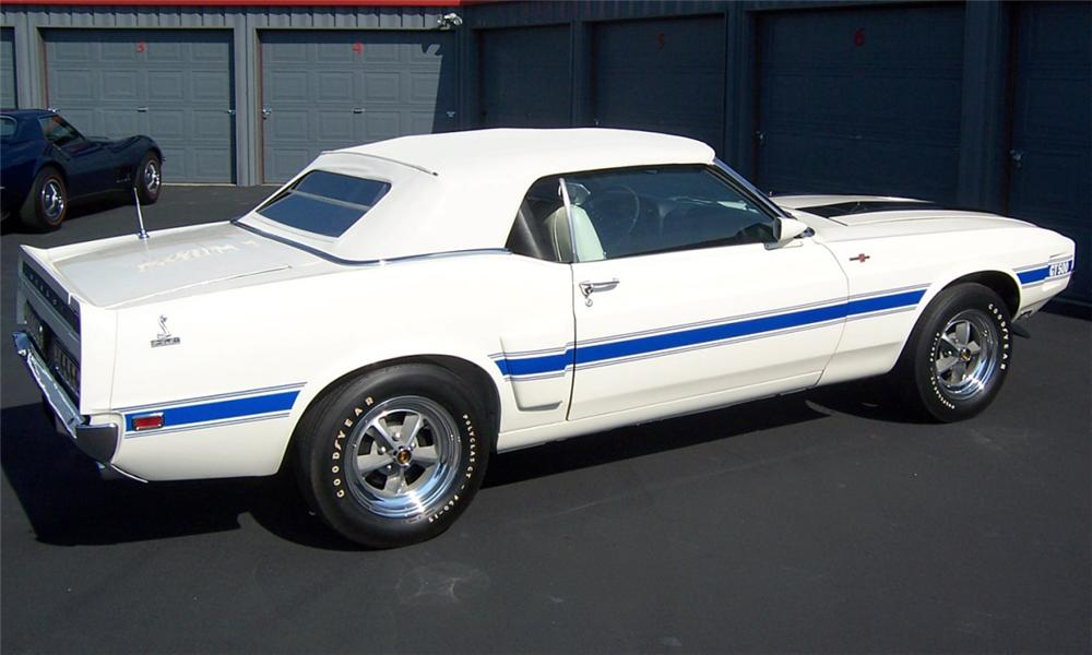 1970 SHELBY GT500 1 OF 1 CONVERTIBLE - Rear 3/4 - 15907