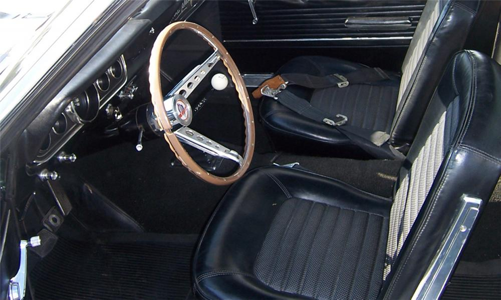 1966 SHELBY GT350 FASTBACK - Interior - 15908