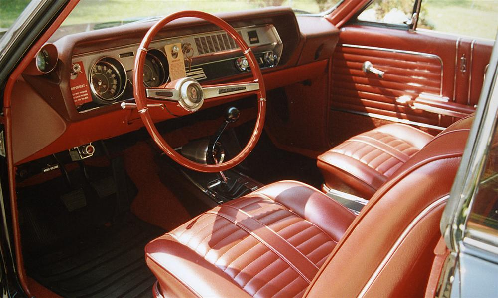 1966 OLDSMOBILE 442 2 DOOR HARDTOP - Interior - 15912