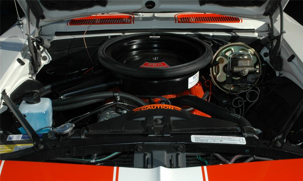 1969 CHEVROLET CAMARO INDY PACE CAR RS/SS CONVERTIBLE - Engine - 15915