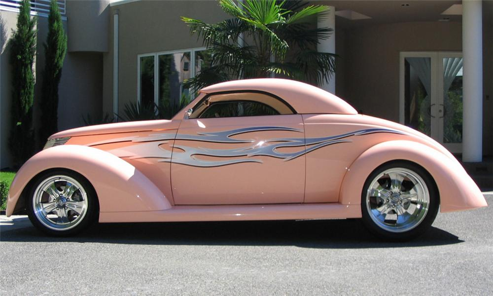 1937 FORD ROADSTER STREET ROD - Side Profile - 15921