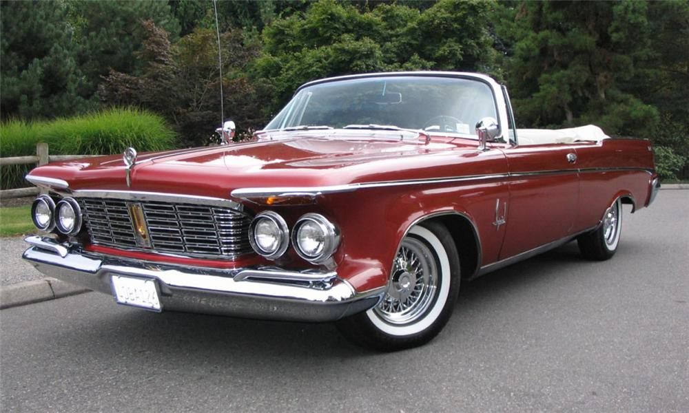 1963 CHRYSLER IMPERIAL CROWN CONVERTIBLE - Front 3/4 - 15924