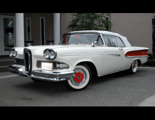 1958 EDSEL PACER CONVERTIBLE -  - 15925