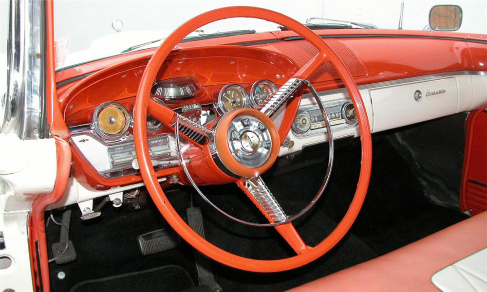 1958 EDSEL PACER CONVERTIBLE - Interior - 15925