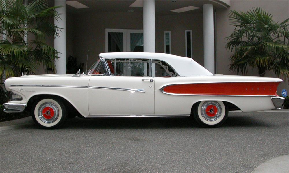1958 EDSEL PACER CONVERTIBLE - Side Profile - 15925