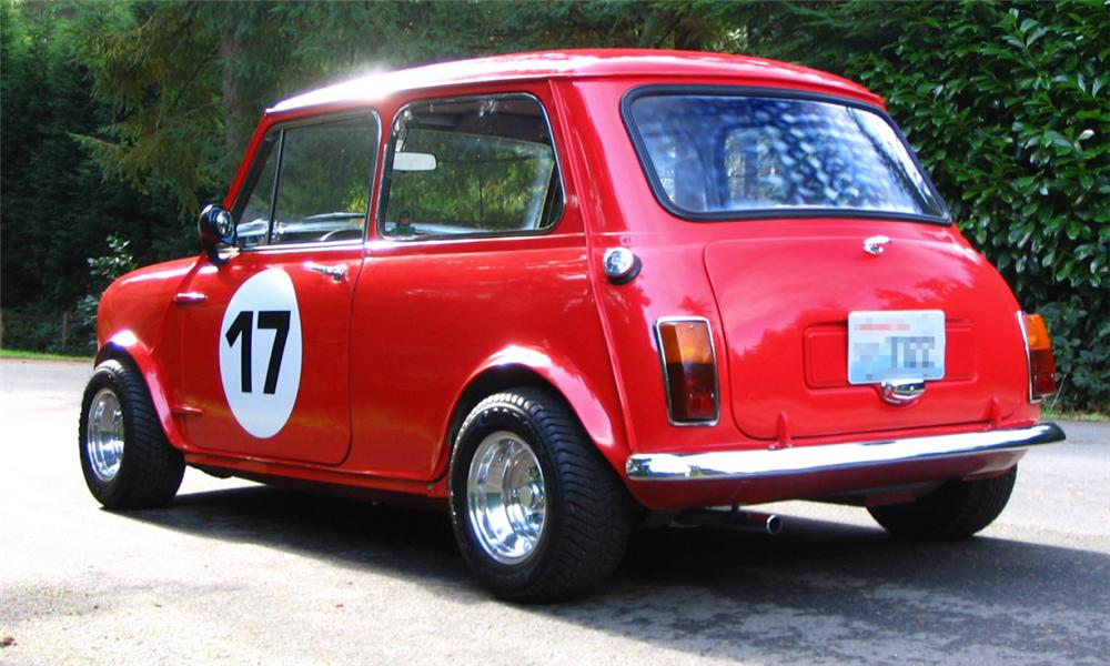 1964 AUSTIN MINI COOPER S 2 DOOR HARDTOP - Rear 3/4 - 15932