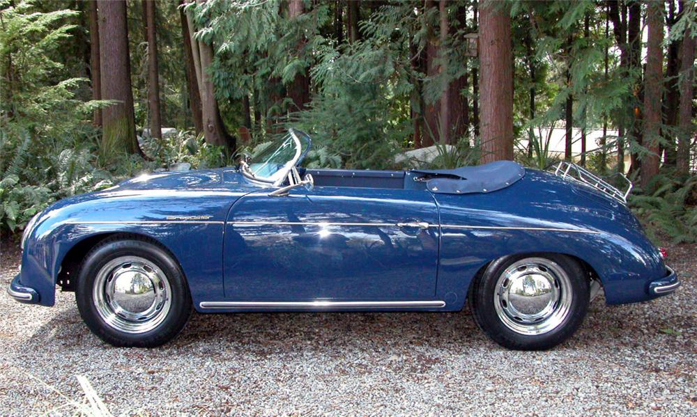 1957 PORSCHE 356 SPEEDSTER RE-CREATION - Side Profile - 15935