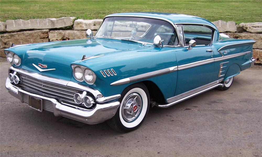 1958 CHEVROLET IMPALA SPECIAL SPORT COUPE - Front 3/4 - 15952