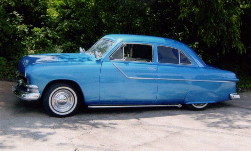 1951 ford custom 2 door 15954 for 1951 ford 4 door sedan