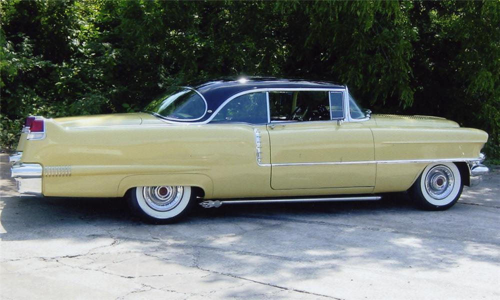 1956 CADILLAC SERIES 62 2 DOOR HARDTOP - Side Profile - 15955