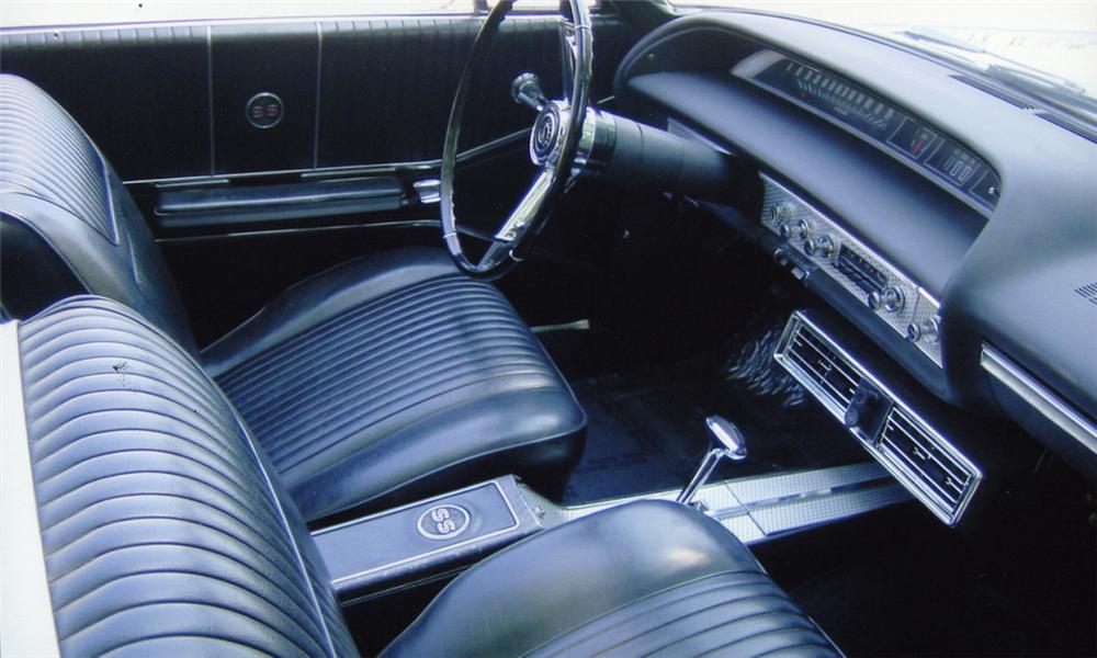 1964 CHEVROLET IMPALA SS CONVERTIBLE - Interior - 15956