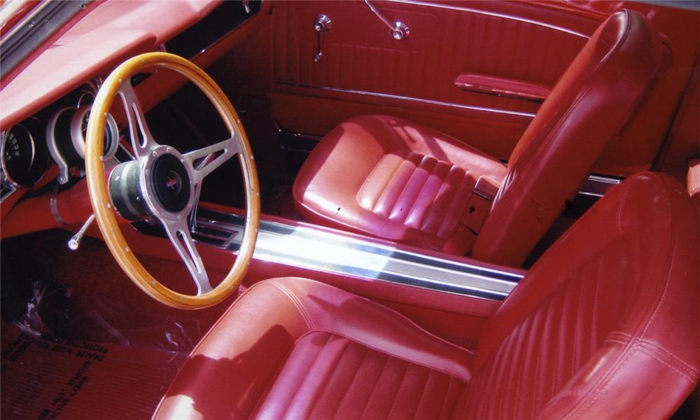1965 FORD MUSTANG COUPE - Interior - 15958