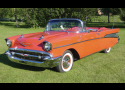 1957 CHEVROLET BEL AIR FUEL INJECTED CONVERTIBLE -  - 15966