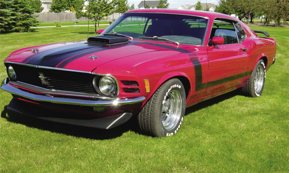 1970 FORD MUSTANG BOSS 302 FASTBACK - Front 3/4 - 15967